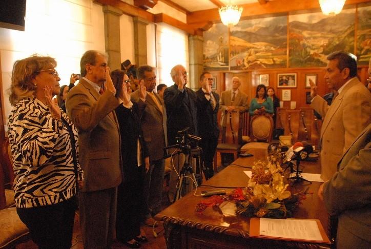 """Diario Frontera, Frontera Digital,  GOBIERNO DE MÉRIDA, Regionales, ,Juramentada comisión de la Fundación """"Dr. Rigoberto Enríquez Vera"""""""
