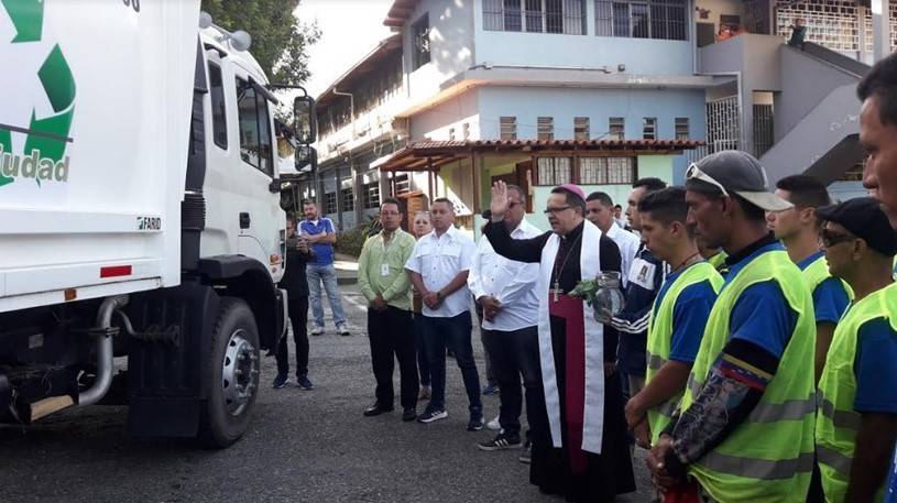 Diario Frontera, Frontera Digital,  ALCALDÍA DEL LIBERTADOR, Regionales, ,Alcalde Alcides Monsalve inició 2020 estrenando compactador nuevo de paquete