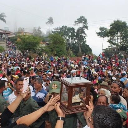 Diario Frontera, Frontera Digital,  niño de la cuchilla, Mocoties, ,Feligreses veneraron al Santo Niño de la Cuchilla  en su tradicional festividad