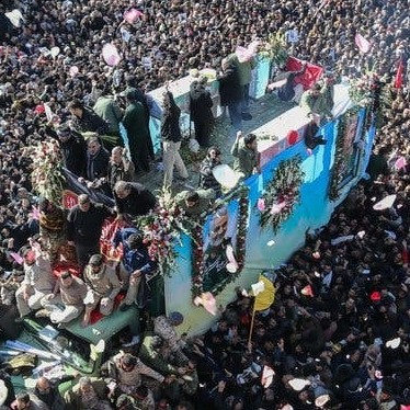 Diario Frontera, Frontera Digital,  IRÁN, Internacionales, ,Al menos 40 muertos y 200 heridos tras una estampida  en el funeral de Soleimani en Irán