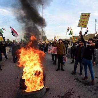 Diario Frontera, Frontera Digital,  BAGDAD, Internacionales, ,El asalto a la embajada de EE.UU. en Bagdad dispara la tensión con Irán
