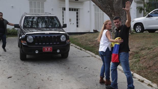 Diario Frontera, Frontera Digital,  leopoldo lópez, Nacionales, ,Leopoldo López abandona la Embajada de España  en Caracas y se dirige a Madrid