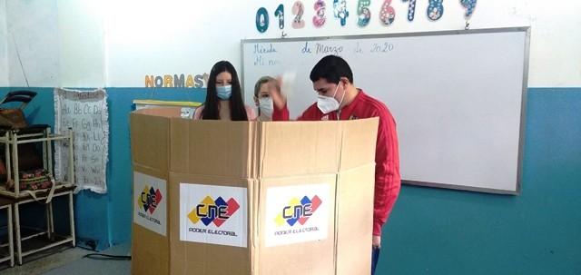 Diario Frontera, Frontera Digital,  SIMULACRO, PSUV, GPP, Politica, ,Máquinas electorales funcionaron al 100% durante simulacro