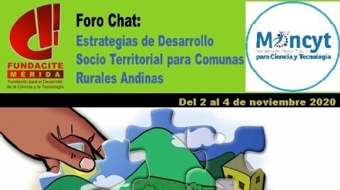 """http://www.fronteradigital.com.ve/Fundacite - Mérida dictará Foro virtual """"Estrategias de Desarrollo  Socio Territorial para Comunas Rurales Andinas"""""""
