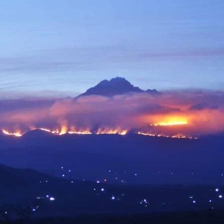 Diario Frontera, Frontera Digital,  KILIMANJARO, Internacionales, ,Incendio en el Kilimanjaro está controlado pero sigue la alerta