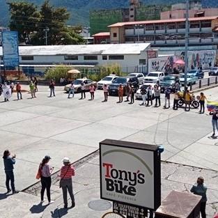 Diario Frontera, Frontera Digital,  PROTESTA DE DOCENTES EN MÉRIDA, Regionales, ,Docentes merideños sin miedo salieron  a la calle en segunda jornada de protesta nacional