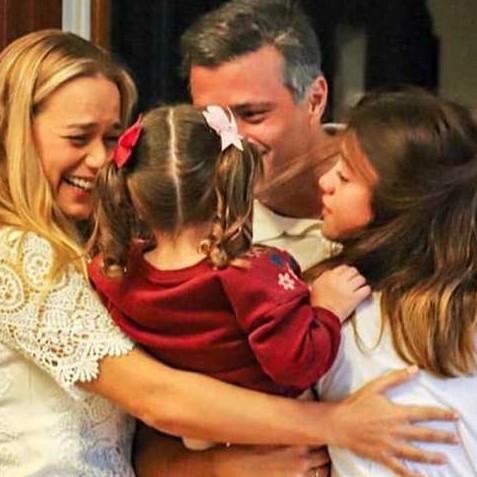 Diario Frontera, Frontera Digital,  LEOPOLDO LÓPEZ, Nacionales, ,López se reencuentra con su familia en Madrid