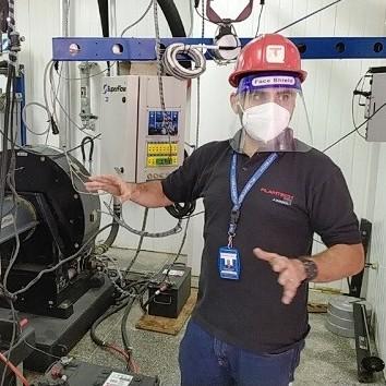 Diario Frontera, Frontera Digital,  TROLEBÚS, Regionales, ,Trolebús Mérida instaló banco de prueba  para motores diesel de unidades Yutong