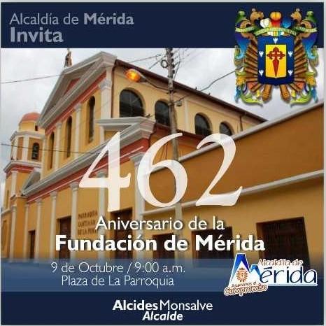 Diario Frontera, Frontera Digital,  DÍA DE MÉRIDA, Regionales, ,Alcaldía recordará los 462 de la fundación de Mérida