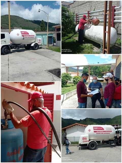 Diario Frontera, Frontera Digital,  NEVADO GAS, Mocoties, ,Nevado Gas atendió diferentes comunidades de Tovar  con un plan de saturación