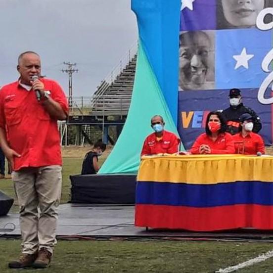 """Diario Frontera, Frontera Digital,  DIOSDADSO CABELLO, Politica, ,Cabello: """"El 6D nosotros estaremos escogiendo  por la paz, el futuro y una Venezuela mejor"""""""