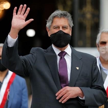 Diario Frontera, Frontera Digital,  PERU, Internacionales, ,Sagasti jura como nuevo presidente de Perú  tras una semana de caos