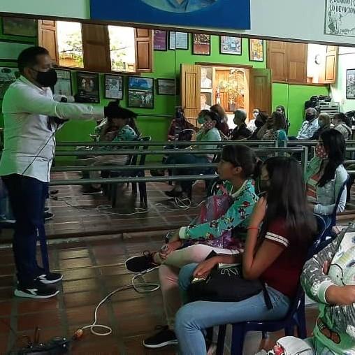 Diario Frontera, Frontera Digital,  instituto Merideño de la Mujer y la Familia, Mocoties, ,Immfa realizó talleres de sensibilización  de no violencia contra la mujer en Bailadores