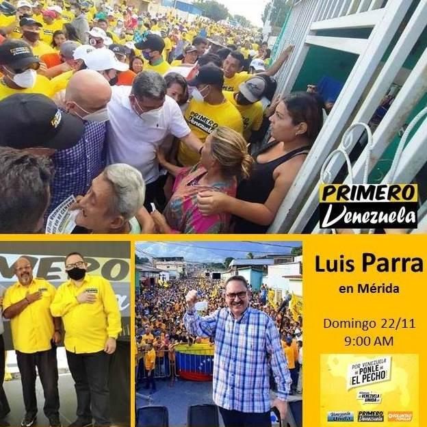 Diario Frontera, Frontera Digital,  LUIS PARRA, PRESIDENTE AN, Politica, ,El presidente de la AN Luis Parra estará en Mérida
