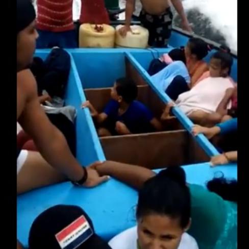 Diario Frontera, Frontera Digital,  NIÑOS DEPPORTADOS VUELVEN A TRINIDAD, Internacionales, ,Niños y adultos venezolanos deportados  de Trinidad regresaron a la isla