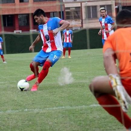 Diario Frontera, Frontera Digital,  ESTUDIANETS DE MÉRIDA F.C., Deportes, ,José Rivas marcó su primer Hat Trick con la camiseta rojiblanca