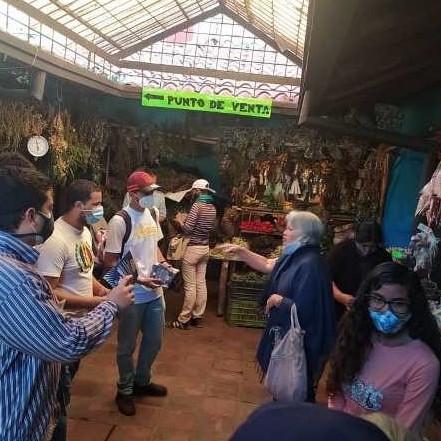 Diario Frontera, Frontera Digital,  UNT, Politica, ,UNT Mérida y factores democráticos con volanteo impulsan la Consulta Popular