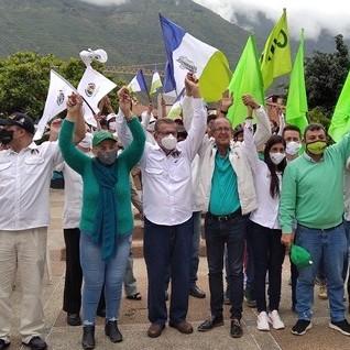 Diario Frontera, Frontera Digital,  ALIANZA DEMOCRÁTICA EN EJIDO, Politica, ,Alianza Democrática de Campo Elías juramentó a los coordinadores electorales para el 6D