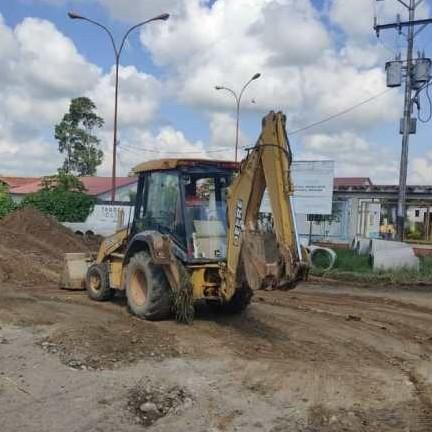 Diario Frontera, Frontera Digital,  VILLAS MILENIO, ALBERTO ADRIANI, Panamericana, ,AVANZA CONSTRUCCIÓN DE AGUAS SERVIDAS EN VILLA MILENIO