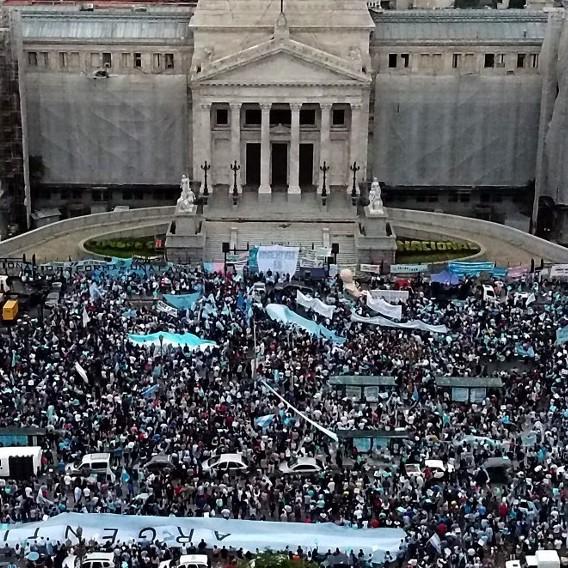 Frontera Digital,  ARGENTINA, Internacionales,  Protestan en Argentina contra  un proyecto de legalización del aborto