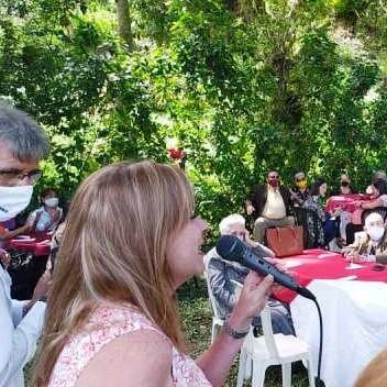 Frontera Digital,  MARÍA EUGENIA FEBRES - CORDERO, Politica,  María Eugenia Febres – Cordero  compartió con un centenar de mujeres
