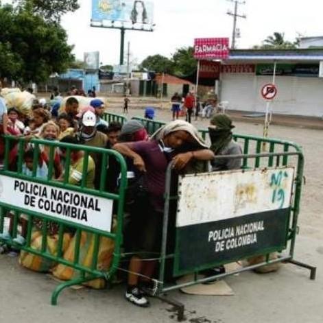 Diario Frontera, Frontera Digital,  TOQUE DE QUEDA EN EL NOIRTE DE SANTANDER, COLOMBIA, FRONTERA, Internacionales, ,Colombia aumenta controles en frontera con Venezuela por el virus