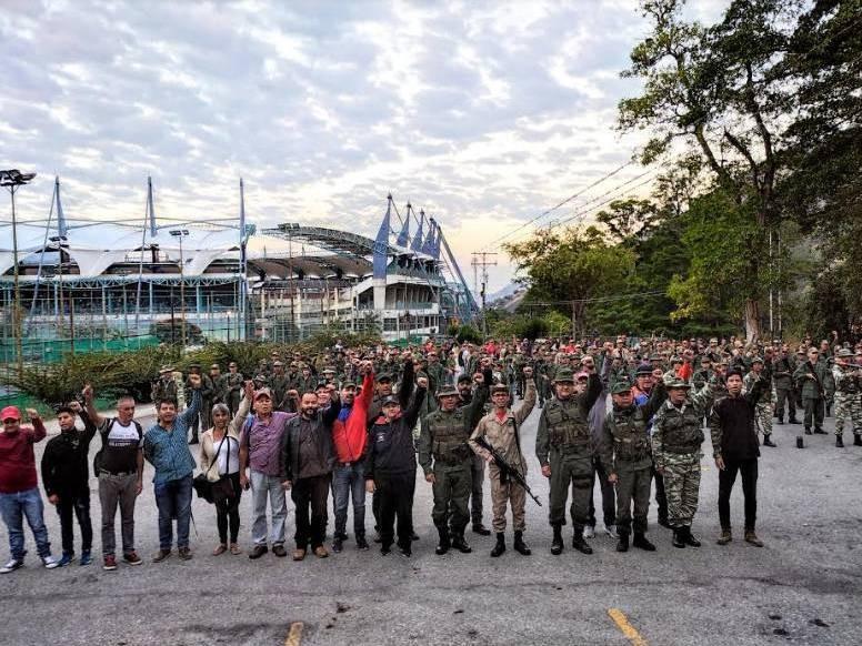 Diario Frontera, Frontera Digital,  EJERCICIOS MILITARES MÉRIDA, Regionales, ,5.000 milicianos de Mérida movilizados para ejercicio #EscudoBolivariano2020