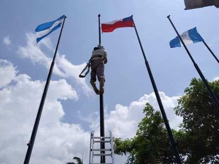 Diario Frontera, Frontera Digital,  PARQUE DE LAS BANDERAS, MÉRIDA, Regionales, ,Remozado parque Las Banderas da la bienvenida a Mérida