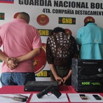 Diario Frontera, Frontera Digital,  GNB, Sucesos, ,GNB desmanteló banda 'Los Guaros'  dedicada al robo de inmuebles en Milla