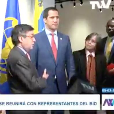 Diario Frontera, Frontera Digital,  BID, Internacionales, ,BID a Guaidó: «Estamos listos para acompañarlo  y atender a los venezolanos»