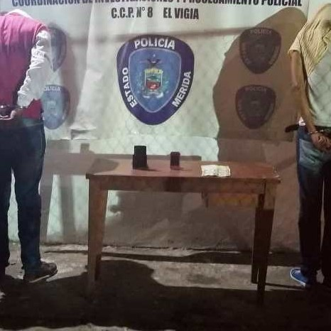 Diario Frontera, Frontera Digital,  EL VIGÍA, Sucesos, ,Policía capturó a dos extorsionadores en El Vigía
