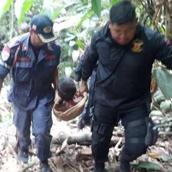 Diario Frontera, Frontera Digital,  BOMBEROS DE EL VIGÍA, Sucesos, ,Bomberos de El Vigía  rescatan a  ciudadano tras caer a un vacío en Caño Arenoso