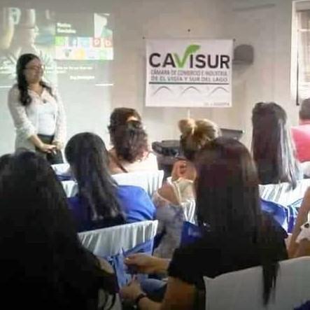 Diario Frontera, Frontera Digital,  CAVISUR, Panamericana, ,Cavisur dictó taller de redes sociales donde participaron empresarios y emprendedores