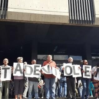 Diario Frontera, Frontera Digital,  PERIODISTAS, Nacionales, ,Periodistas protestaron frente al MP para denunciar agresiones