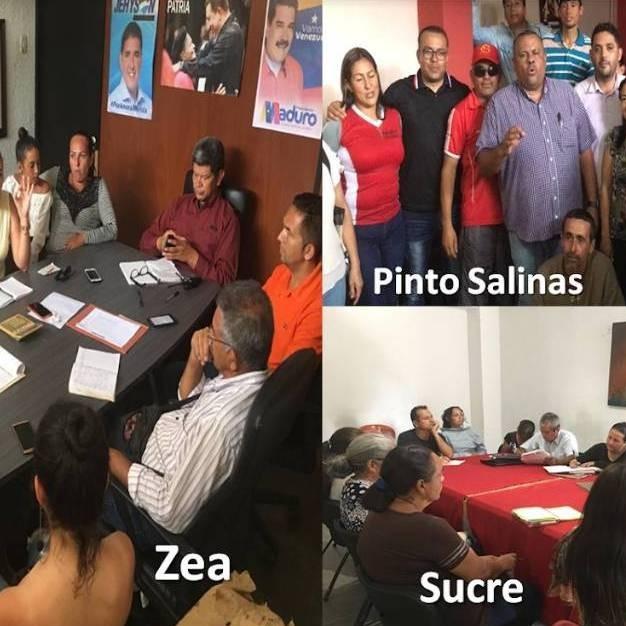 """Diario Frontera, Frontera Digital,  MIGUEL REYES, PSUV, Mocoties, ,Miguel Reyes: """"Psuv Mérida continúa aceitando la maquinaria  en materia electoral en los municipios Pinto Salinas, Sucre y Zea"""""""