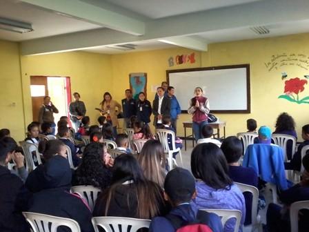 Diario Frontera, Frontera Digital,  GOBIERNO DE MÉRIDA, Regionales, ,Oficina Estadal Antidrogas dictó charla  en la escuela Vitalia Gutiérrez de Rincón