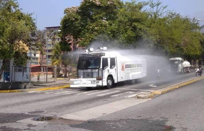Diario Frontera, Frontera Digital,  DESINFECCIÓN, Regionales, ,Plan Nacional de Desinfección abordó Av. Las Américas de Mérida