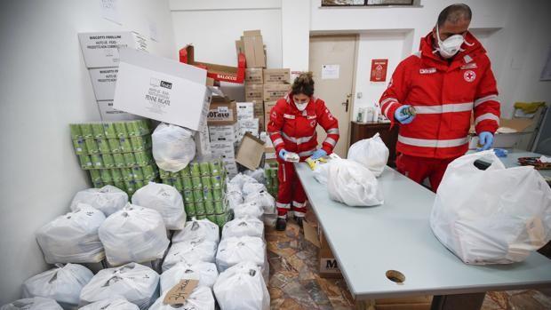 Diario Frontera, Frontera Digital,  ITALIA, Internacionales, ,Italia ayuda con alimentos y bonos de compra  a las familias al temer desórdenes por el hambre