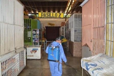 Diario Frontera, Frontera Digital,  ALCALDÍA DE TOVAR, Mocoties, ,Sigue la fumigación y desinfección  en dependencias  y espacios públicos