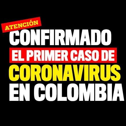 Diario Frontera, Frontera Digital,  CORONAVIRUS, COLOMBIA, Internacionales, ,Inicia fase de contención  tras primer caso de coronavirus en Colombia