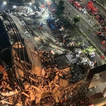 Diario Frontera, Frontera Digital,  CHINA, Internacionales, ,Un hotel se desploma sobre 70 personas  en la ciudad china de Quanzhou