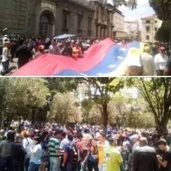 Diario Frontera, Frontera Digital,  MÉRIDA, PROTESTA, Politica, ,Merideños salieron a la calle  y respaldaron el Pliego Nacional de Conflicto
