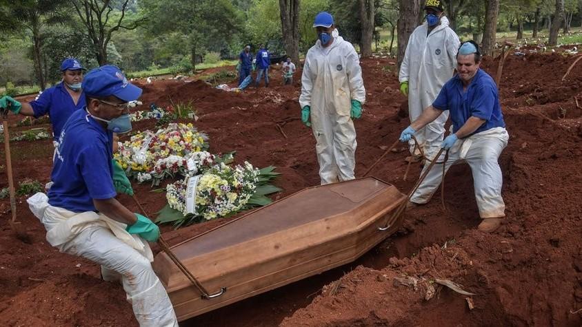 http://www.fronteradigital.com.ve/Brasil: São Paulo prevé 111.000 muertes  en seis meses por COVID-19