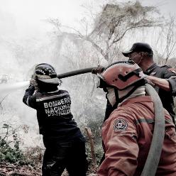 Diario Frontera, Frontera Digital,  INCENDIO EN EL ALGODONAL, Nacionales, ,Bomberos sofocan incendio cerca del Hospital centinela El Algodonal