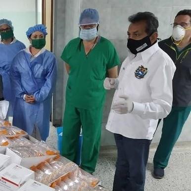 Diario Frontera, Frontera Digital,  EMERGENCIA DEL HULA, Salud, ,Emergencia del Iahula recibió dotación de equipo de protección personal