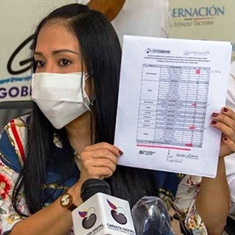 Diario Frontera, Frontera Digital,  TÁCHIRA, Nacionales, ,Gobernadora Laidy Gómez solicita a la  FANB reforzar seguridad en las trochas del Táchira