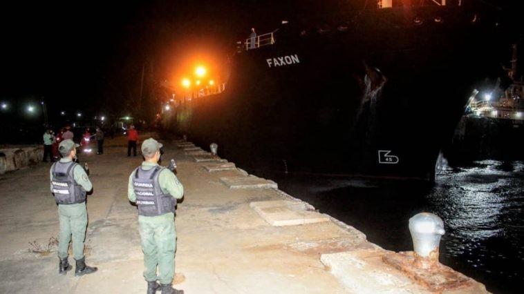 Diario Frontera, Frontera Digital,  BUQUE IRANÍ, Nacionales, ,Cuarto buque iraní ya se encuentra en Puerto La Cruz