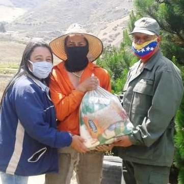 Diario Frontera, Frontera Digital,  MUNICIPIO RANGEL, Páramo, ,Cerca de 4 mil combos CLAP  se entregaron en Mucuchíes, La Toma y Mucurubá