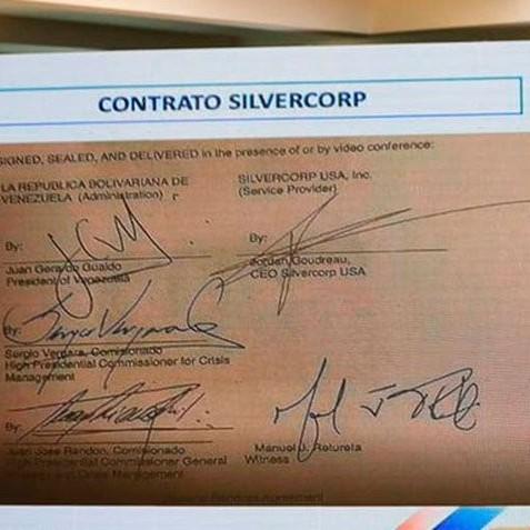 Diario Frontera, Frontera Digital,  JORGE RODRÍGUEZ, Nacionales, ,Gobierno presenta en claves el contrato  entre Guaidó, J.J. Rendón y Jordán Goudreau