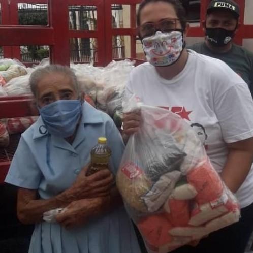 Diario Frontera, Frontera Digital,  ALBERTO ADRIANI, Panamericana, ,400 FAMILIAS RECIBIERON GRATIS LOS SUPLEMENTOS ALIMENTICIOS EN ALBERTO ADRIANI